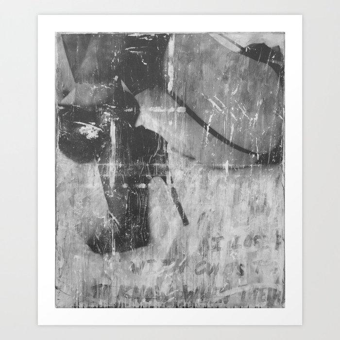 Heels & Garters Art Print