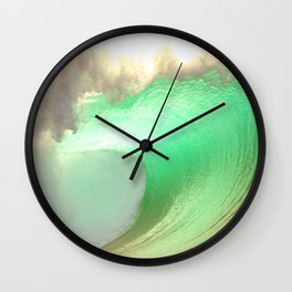 Pipeline Rush Wall Clock