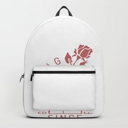 Girl Gang Rose Gay Lesbian Homo CSD Gift Backpack