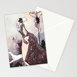 """""""Some Glory In Their Birth"""" Fairy Art by Charles Robinson Stationery Cards"""