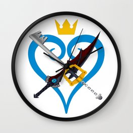 Kingdom Hearts キングダム ハーツ Keyblade Sora and Riku Wall Clock