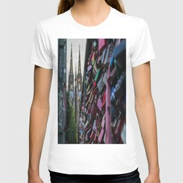Lovelocks and Cathedral T-shirt
