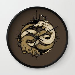 NEVERENDING FIGHT Wall Clock