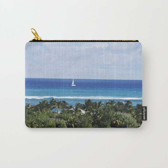 Bahamas Cruise Series 121 Carry-All Pouch