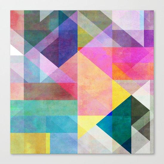 Color Blocking 2 Canvas Print