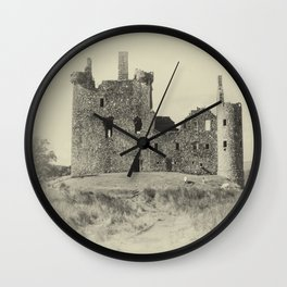 Kilchurn Castle 3 Wall Clock