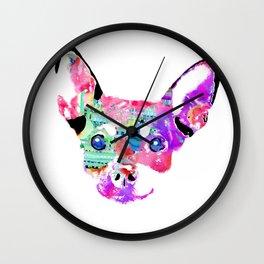 Joaquin the Chihuahua  Wall Clock