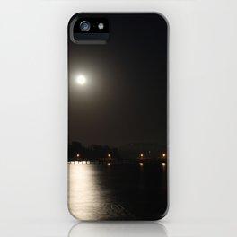 Full Moon Rise iPhone Case
