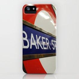 Baker Street Station iPhone Case