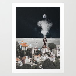 Be Seeing You Art Print