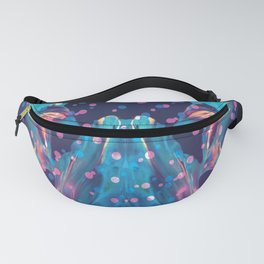 Bubble Paint Pattern Fanny Pack