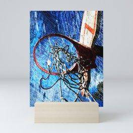 Basketball art 10 Mini Art Print