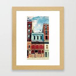 19th Street Framed Art Print