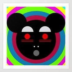 Oh panda! Art Print