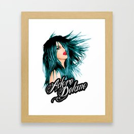 Adore Delano, RuPaul's Drag Race Queen Framed Art Print