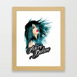 Adore Delano, RuPaul's Drag Race Queen Framed Art Print