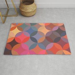 Moroccan pattern multicolor Rug