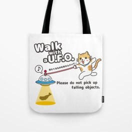 Waking Cat Tote Bag
