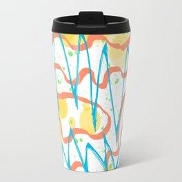 Graffiti Abstract Pattern Travel Mug