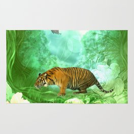 Awesome tiger Rug