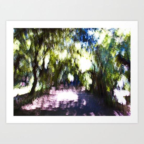 Boboli Gardens Art Print