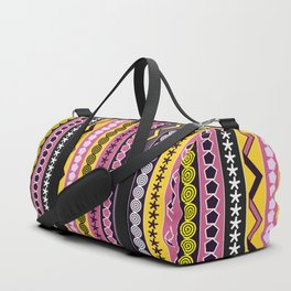 Fancy stripes Duffle Bag