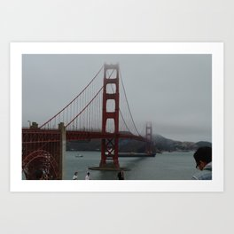 Golden Gate Bridge Print Art Print