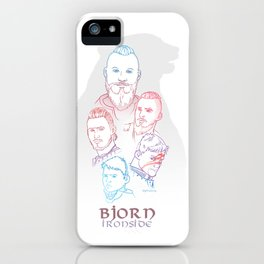 Bjorn Ironside iPhone Case