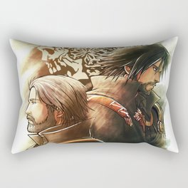 King and Prince ( Final fantasy XV ) Rectangular Pillow