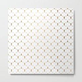 The Golden Nutcracker Metal Print