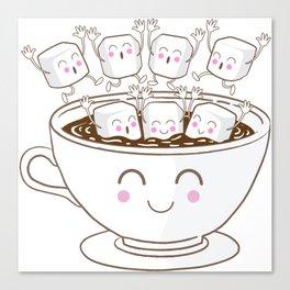 Marshmallow fun! Canvas Print