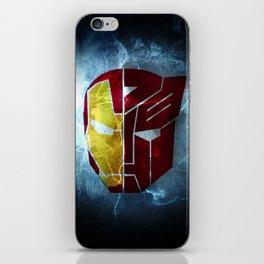Iron man x Transformer iPhone Skin