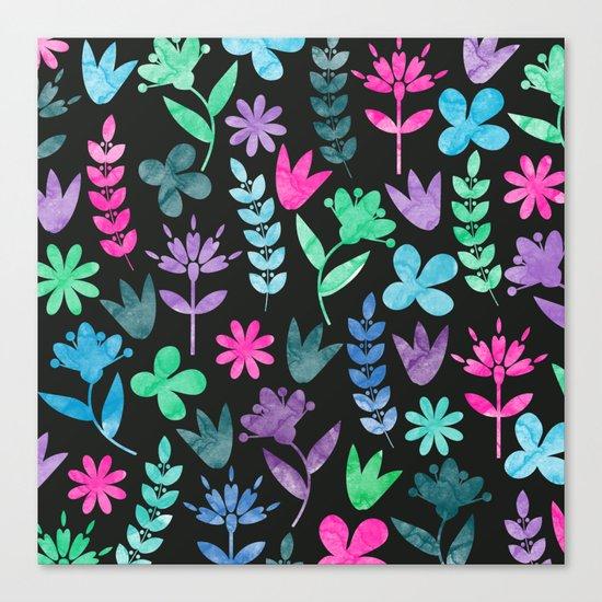 Flower Pattern V Canvas Print