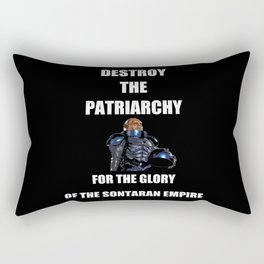 Destroy the Patriarchy Rectangular Pillow