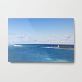 Bahamas Cruise Series 86 Metal Print