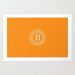 The Circle of  B Art Print