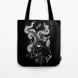 Goat God Tote Bag