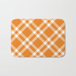 Simply Check Stripes Bath Mat
