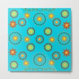 Star pattern2 Metal Print