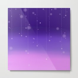 Wish Upon A Falling Star Metal Print