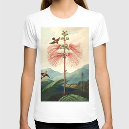 Large flowering sensitive plant. T-shirt