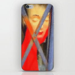 Kuhl's Kit Kat Klub: Coco Was Trapped In The Elevator Again! iPhone Skin