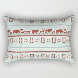 Mountain Spirit Animals Rectangular Pillow