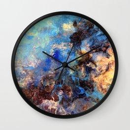 Pacific Lagoon - Original Abstract Art by Vinn Wong Wall Clock
