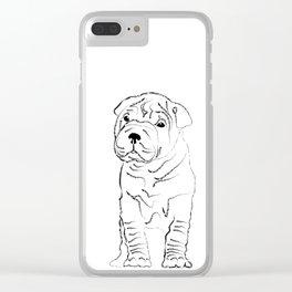 Sharpei Clear iPhone Case