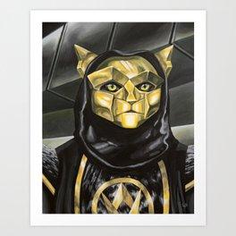 Klawtus Art Print
