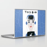 dad Laptop & iPad Skins featuring Tech Dad by Susse Collection