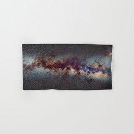 The Milky Way: from Scorpio, Antares and Sagitarius to Scutum and Cygnus Hand & Bath Towel