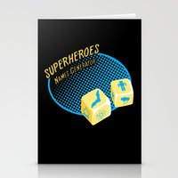 super heroes Stationery Cards featuring Super-Heroes-Name-Generator by sergio37