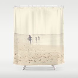surfing life II Shower Curtain